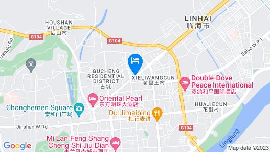 S&N International Hotel Map