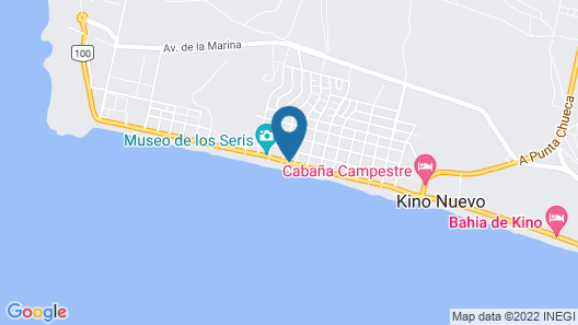Playa Azul Kino Map