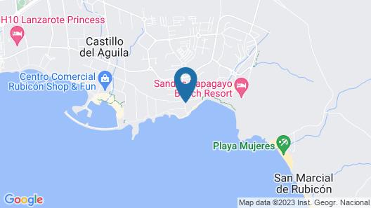 Hotel The Mirador Papagayo Map