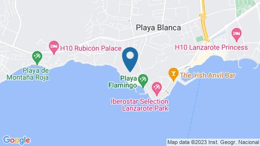 H10 Timanfaya Palace Map