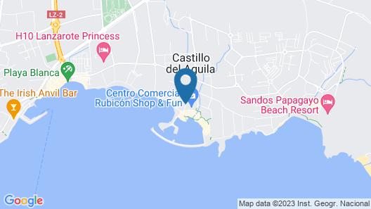 Hotel Apartamento Pueblo Marinero Adults Exclusive Map