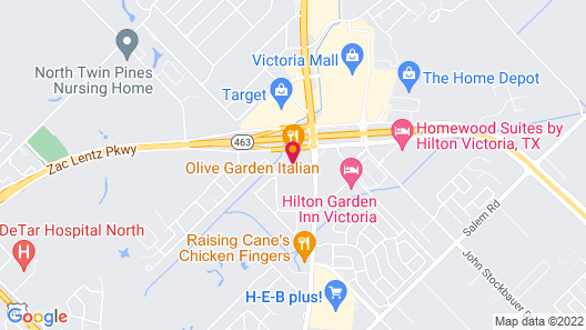 Candlewood Suites VICTORIA, an IHG Hotel Map