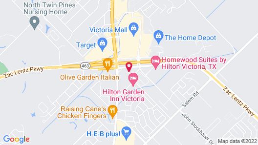 Days Inn by Wyndham Victoria Map