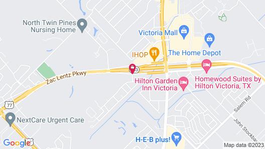 Baymont by Wyndham Victoria Map
