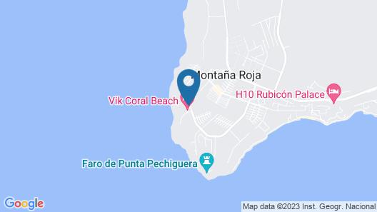 VIK Coral Beach Map