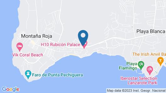Hoopoe Villas Lanzarote Map