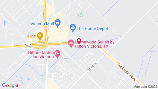 Homewood Suites Victoria, TX Map