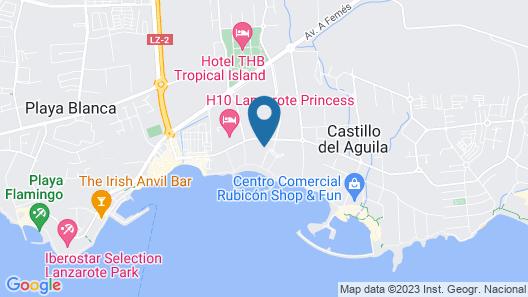 Princesa Yaiza Suite Hotel Resort Map