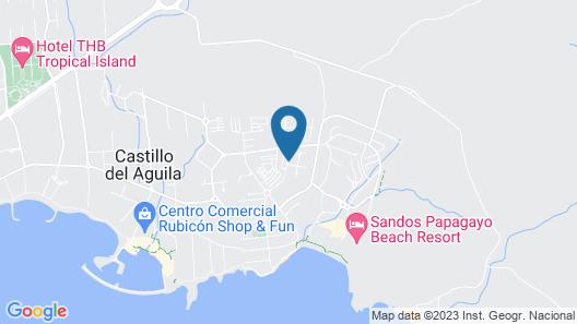 Playa Blanca Beach Mate Map