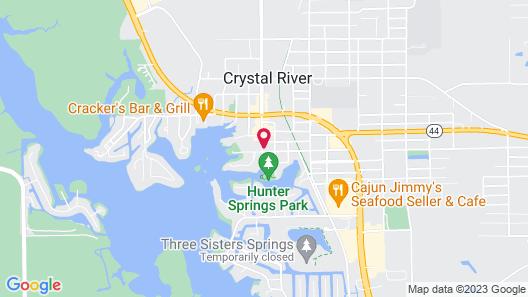 Retreat at Crystal Manatee Map