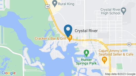 Best Western Crystal River Resort Map
