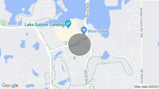 Beautiful Villa Close to Lake Sumter Landing! Golf Cart, 2 Bikes & Wifi Map