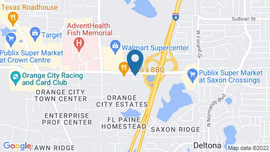 Holiday Inn Express & Suites Orange City - Deltona, an IHG Hotel Map