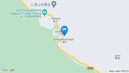 Wuyue Jingqu Hotel Sanqingshan Map