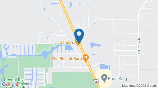 Days Inn by Wyndham Crystal River Map