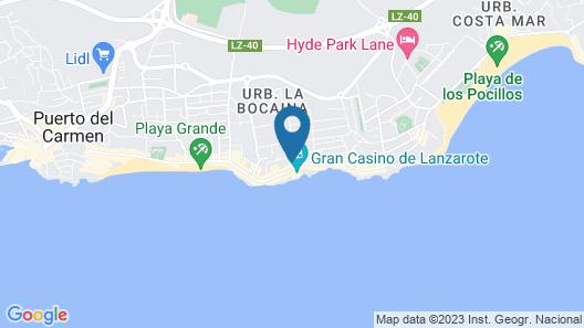 LABRANDA Playa Club Map