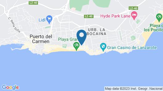 Arena Dorada - Apartments Map