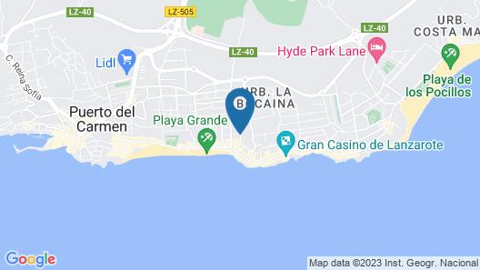 Relaxia Lanzaplaya Map