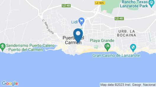 Apartamentos Fariones Map