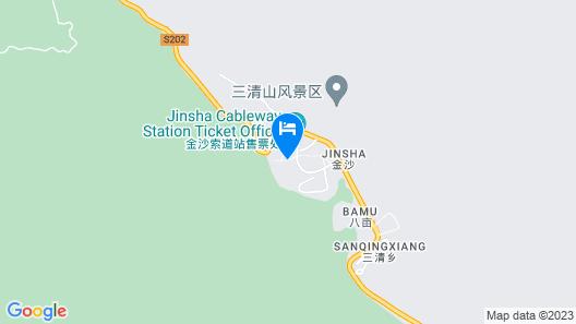 Sanqingshan Jinshawan Holiday Hotel - Shangrao Map