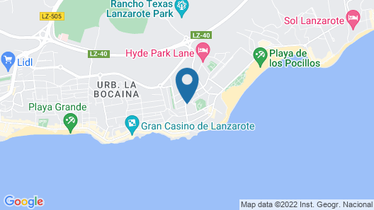 Relaxia Olivina Map