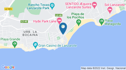 Club Del Carmen by Diamond Resorts Map