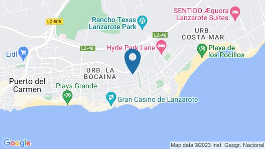 Apartamentos Los Tulipanes Map