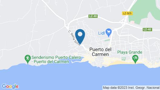 La Isla y el Mar Hotel Boutique - Adults Only Map