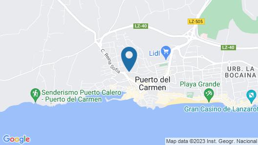 Gloria Izaro Club Hotel Map