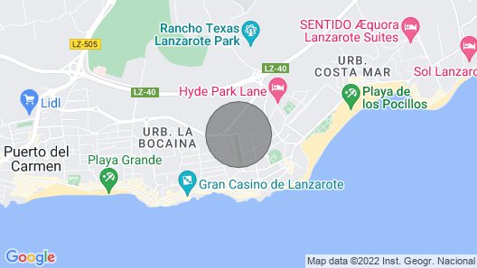 Apartment Blue Sky, Puerto del Carmen Map