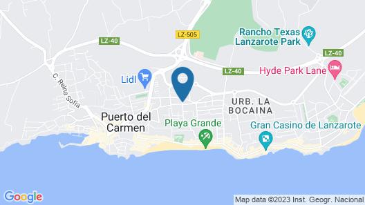 Bitácora Lanzarote Club Map
