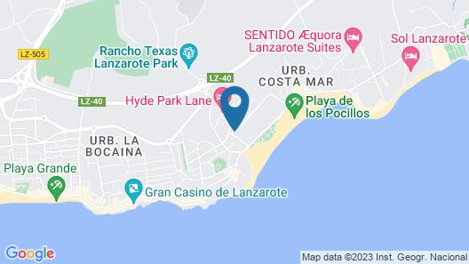 Hotel Lanzarote Village Map