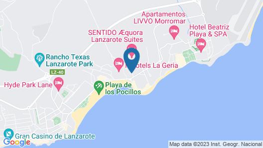 Hotel Floresta Map