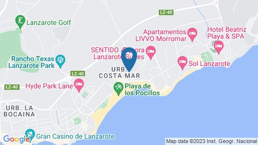 Hotel Pocillos Playa Map