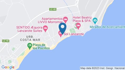 Sol Lanzarote Map