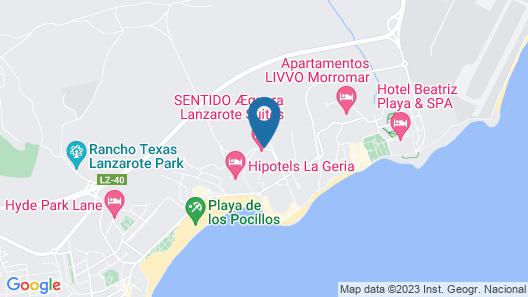 Aequora Lanzarote Suites Map