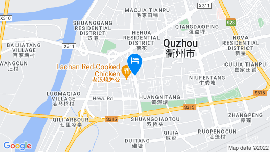 GreenTree Eastern Quzhou Kecheng District Hewu Road Hotel Map