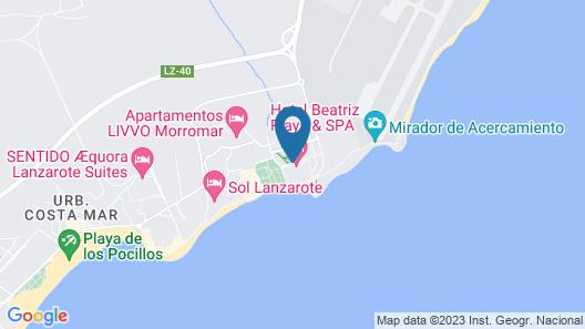 Hotel Beatriz Playa & Spa Map
