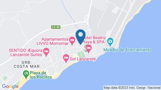 Guacimeta Apartamentos Map