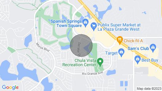 Spanish Springs Area Courtyard Villa W/golf Cart & Clubs Map