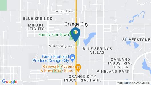 Quality Inn near Blue Spring Map