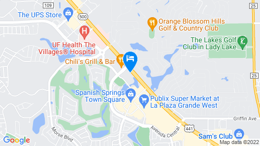 Holiday Inn Express Hotel & Suites The Villages Map