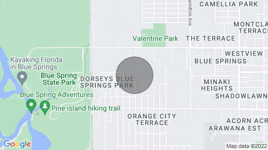 Near Blue Springs Pk Map