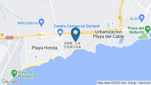 Villa La Concha Map