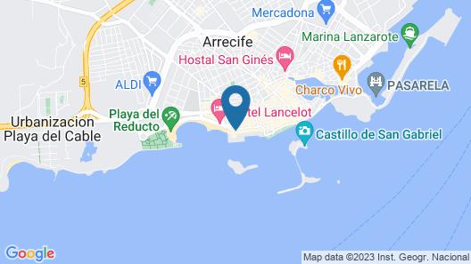 Arrecife Gran Hotel & Spa Map