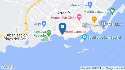 Hotel Lancelot Map
