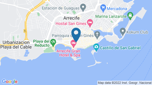 Hostal Residencia Cardona Map