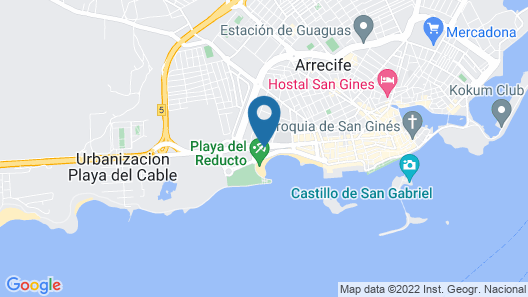Apartamentos Luxury Marabo Suites Map