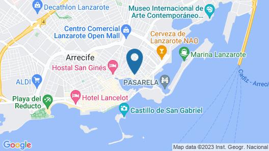El Charco Suites Map
