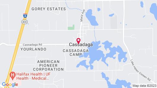 Cassadaga Hotel Map